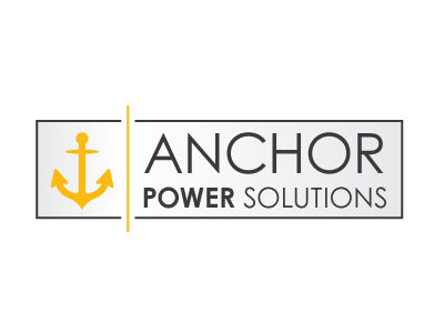 Master Web Engine | Anchor Power Solutions Logo Design