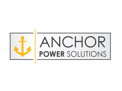 Master Web Engine | Logo Design | Anchor Power Solutions Logo Design