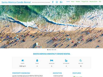 Master Web Engine | Web Design | Santa Monica Condo Rental
